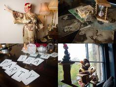 My Vintage Wardrobe: Angel Adoree, Owner Of The Vintage Patisserie Vintage Tea, French Vintage, Vintage Style, Vintage Fashion, Angel Adoree, Angel Strawbridge, Big Building, Vintage Wardrobe, French Chateau