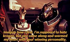 Mass Effect 3 Wrex & Garrus          5