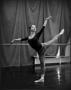 Evgenia Obraztsova in class