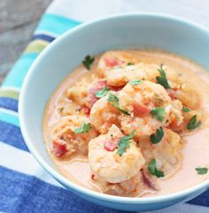 I Breathe... I'm Hungry...: Brazilian Shrimp Stew (Moqueca de Camarones)  5.5g net carbs per serving