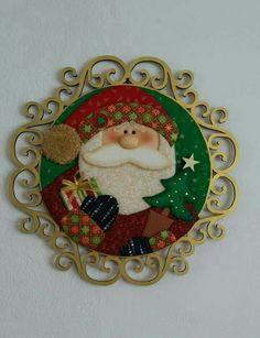 Navidad ines Wooden Cutouts, Decorative Plates, Alice, Santa, Felt, Dolls, Christmas Ornaments, Holiday Decor, Painting