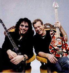 Tony Iommy & Eddie Van Halen