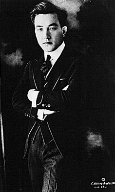 Sessue Hayakawa ... old Hollywood actor (first Asian American lead actor in 1920s and after... contemporary of Charlie Chaplin's).  Started in silent films