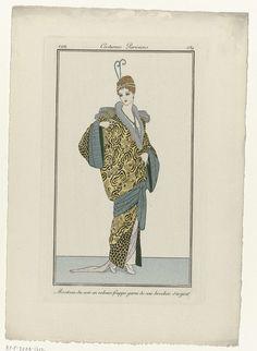 Journal des Dames et des Modes, Costumes Parisiens, 1914, No. 139 : Manteau du…