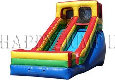Inflatable Interactive Games: Look For A Slide For Sale Only At Happy Jump