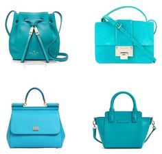 """""""Blue Bags"""" by richard-cmi ❤ liked on Polyvore featuring Kate Spade, Jimmy Choo, Dolce&Gabbana and Vera Bradley"""