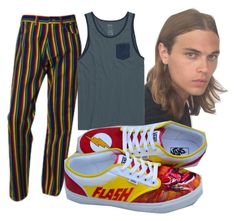 """Andres 5"" by dayleensteph on Polyvore featuring interior, interiors, interior design, hogar, home decor, interior decorating, Versace, RVCA y Vans"