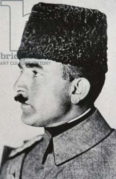 Enver Pasha, the son of a bridge keeper and leader of the young turks, made himself master of the ottoman empire in 1913.
