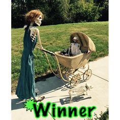 Another winner strolling along.  ‪#‎crazybonezcontest‬ or enter at www.crazybonezskeleton.com Halloween Skeleton Decorations, Halloween Skeletons, Halloween Skull, Couple Halloween Costumes, Halloween 2017, Scary Halloween, Halloween Crafts, Halloween Ideas, Haunted Maze