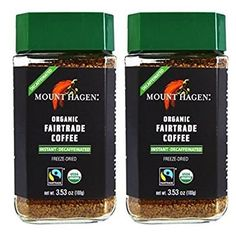 Mount Hagen Organic Freeze Dried Instant Decaf Coffee 353 oz Pack of 2 >>> For more information, visit image link. (This is an affiliate link) Decaf Coffee, Hot Coffee, Coffee Drinks, Arabica Coffee Beans, Coffee Label, Fair Trade Coffee, Instant Coffee, Freeze Drying, Coffee Bottle