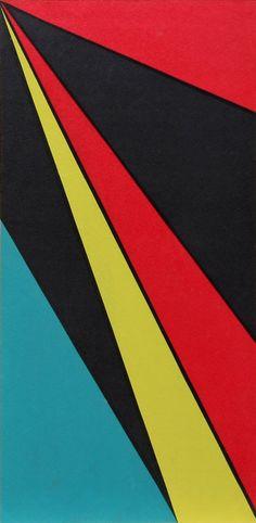 Olle Baertling serigraph, 1958. via Stockholms Auktionsverk