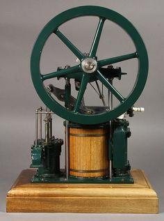 Maudslay Son and Field steam Annular engine model, the - Nov 2016 Stirling Engine, Engineering Works, Machine Age, Survival Stuff, Steam Engine, Steam Locomotive, Hot Rods, Motors, Stationary