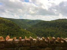 Copperhead Overlook over the Gauley River at Carnifex Ferry Battlefield State Park