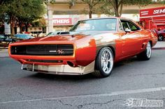 1970 Dodge Charger Street Shaker. Best muscle cars on the web at: http://hot-cars.org