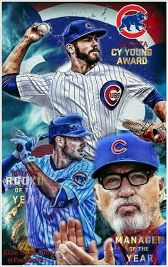The trifecta for the Cubs in 2015!