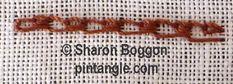 shell chain stitch 7