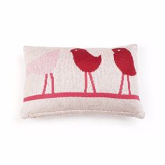 Bird On A Wire Baby Cushion