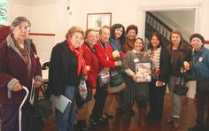 Spanish-speaking caregiver's retreat: End of the day wrap-up . . . many smiles = a successful retreat