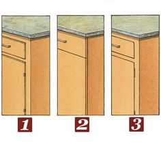 Partial inset?  Full overlay?  Or inset?  Our experts help you pick the right cabinet style for your budget and your needs. | Illustration: Rodica Prato | thisoldhouse.com
