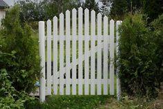 hageport - Google-søk Fence Gate, Garden Inspiration, Yard, Outdoor Structures, Portal, Gardens, House, Decor, Patio