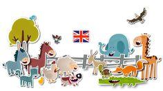 Aprender inglés con los animales - Dada Company | Aplicaciones creativas, educativas y entretenidas para niños Apps, Learning English, Creativity, Animales, App