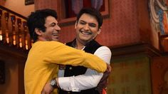 Kapil sharma talks about sunil grover comming____Live from studio with A...
