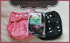Punk Chick cloth diapers and leggings giveaway. Gotta get my niece into cool clothes before her parents turn her preppy