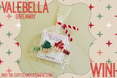 WIN! Brand new giveaway on Coffee and Cashmere featuring Valebella Jewelry Designs! #coffeeandcashmeregiveaways #hairclips #handmade #etsy #elves #hair #elf #elfontheshelf #christmas #jewelry #holidays #stockingstuffers #children #kids #baby #girls #littlegirls #bows #win #giveaway #giveaways #coffeeandcashmere #mommyblog