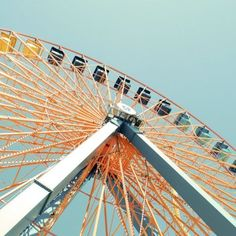 Life is more breath-taking when it's a ferris wheel ride.