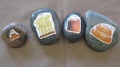 StrongStart: Story Stones for Little Red Hen, pictures could be used without the stones
