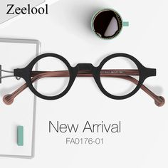 e30ef457bc1 Arale Round Black Glasses FA0176-01. Rounding. Zeelool Optical