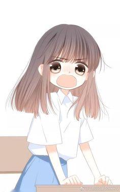 Cool Anime Girl, Anime Art Girl, Anime Love Couple, Cute Anime Couples, Kawaii, Shadow Puppets With Hands, Chibi Girl, Couple Wallpaper, Animation Reference
