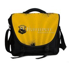 Harry Potter Hufflepuff Messenger Bag. Suitable for 13-13.3 inch MacBooks 14inch laptops/notebooks/Ultrabooks