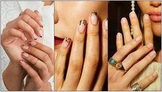 5 Μοντέρνα γαλλικά μανικιούρ που πρέπει να δοκιμάσεις! | ediva.gr Class Ring, Rings, Fashion, Moda, Fashion Styles, Ring, Fasion, Fashion Illustrations, La Mode