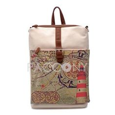 BBAO - Functional Preppy Style Recreation Backpacks