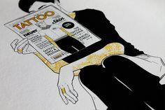 Digital illustration - Giclée Print Support: Fine Art Cotton Paper