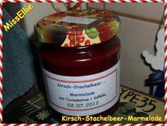 ~ Marmelade ~ Kirsch-Stachelbeer-Marmelade Rezept - Rezepte kochen - kochbar.de