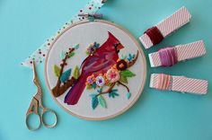 Animals Adorned with Stitched Blooms by Maria Arseniuk