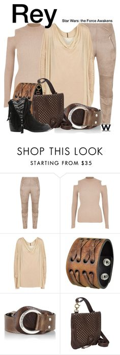 """""""Star Wars - The Force Awakens"""" by wearwhatyouwatch ❤ liked on Polyvore featuring Jean Marc Philippe, Rick Owens, Nemesis, Diesel, TOKYObay, Qupid, wearwhatyouwatch and film"""