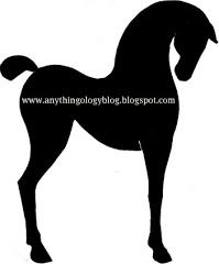 Copy on transparency and make a carousel horse.