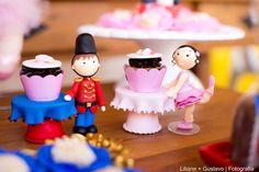 Mini suporte para cupcake soldadinho | Ateliê Cris Ubara | Elo7