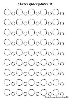 Trace the Dotted Lines Worksheets for Kids - Preschool and Kindergarten Preschool Writing, Preschool Learning, Learning Centers, Early Learning, Preschool Activities, Alphabet Writing Practice, Alphabet Tracing Worksheets, Kindergarten Worksheets, Pre Writing