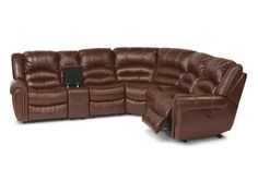 Modern Sectional Sofas Flexsteel Leather Reclining Sectional SECT
