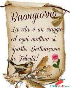 Immagini Belle Di Buongiorno - Pocopagare.com Italian Memes, Good Morning Coffee, Love Your Life, Good Mood, Beautiful Words, Emoticon, Emoji, Baby Boom, Morning Quotes