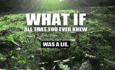 What If Everything You Were Ever Taught Was A Lie - What If All That Your Ever Knew Was A Lie