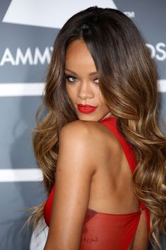 Rihanna Hairstyles & Hair Colour 2005-2013 Pictures (Vogue.com UK) (Vogue.com UK)