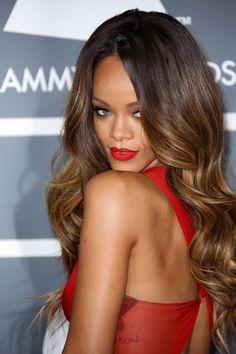 Rihanna Hairstyles & Hair Colour 2005-2013 Pictures (Vogue.com UK) (Vogue.com UK)