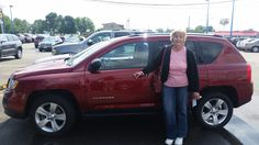 Thanks Linda Lang for purchasing your #Jeep #Compass with us! We hope you enjoy it and come back to see us!