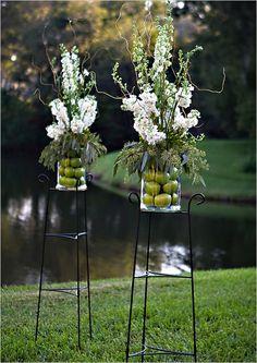 15 Ideas Diy Wedding Alter Outdoor Floral Arrangements For 2019 Wedding Altars, Wedding Ceremony Flowers, Floral Wedding, Green Wedding, Handmade Wedding, Diy Wedding, Wedding Ideas, Jazz Wedding, Wedding Backyard