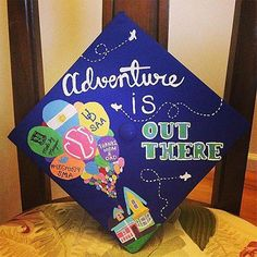 """Up"" DIY Graduation Cap how-to"